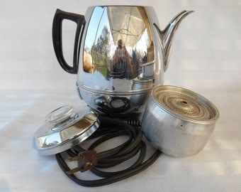 Mid Century Modern General Electric Coffee Pot #23P30