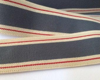 Striped Elastics, elastic for suspenders, elastic by the yard, elastic waistband, elastic band