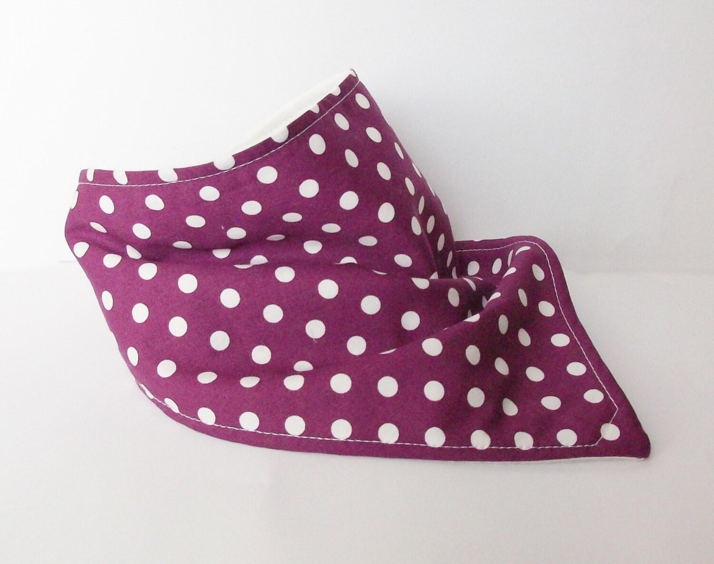 baby bandana baby scarf dribble bib bibdana drool bib polka