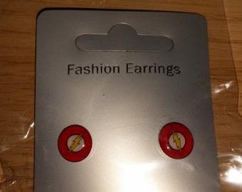 The Flash stud ear-rings