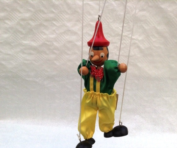 how to make a wooden pinocchio puppet