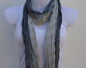 Gray Scarf Scarves For Women Unique Scarves Fashion Scarves Winter Spring Scarves Womens Scarves Shawl Scarf Gift Ideas For Her Wraps