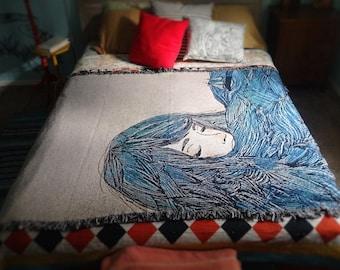 Ocean Woven Blanket