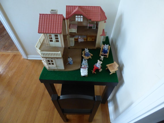 Items similar to lego playmobil calico critters table w for Table playmobil