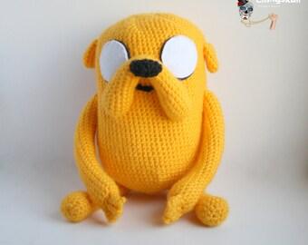 Amigurumi Jake the Dog (Adventure Time).