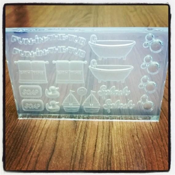 baby shower mold sugar paste soap plaster cold porcelain gumpaste