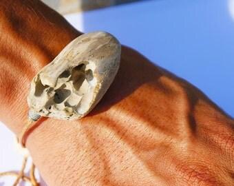 Driftwood Bracelet - Natural wood - Eco friendly - San Francisco - Driftwood jewelry