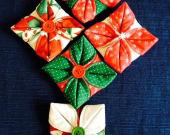 Fabric Christmas ornament