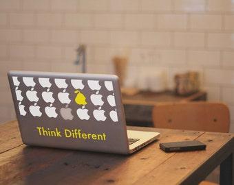 Macbook Sticker Think Different