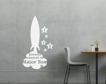 Wall Sticker Major Tom