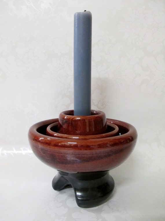 Insulator vintage insulator candle holder vintage by for Insulator candle holder