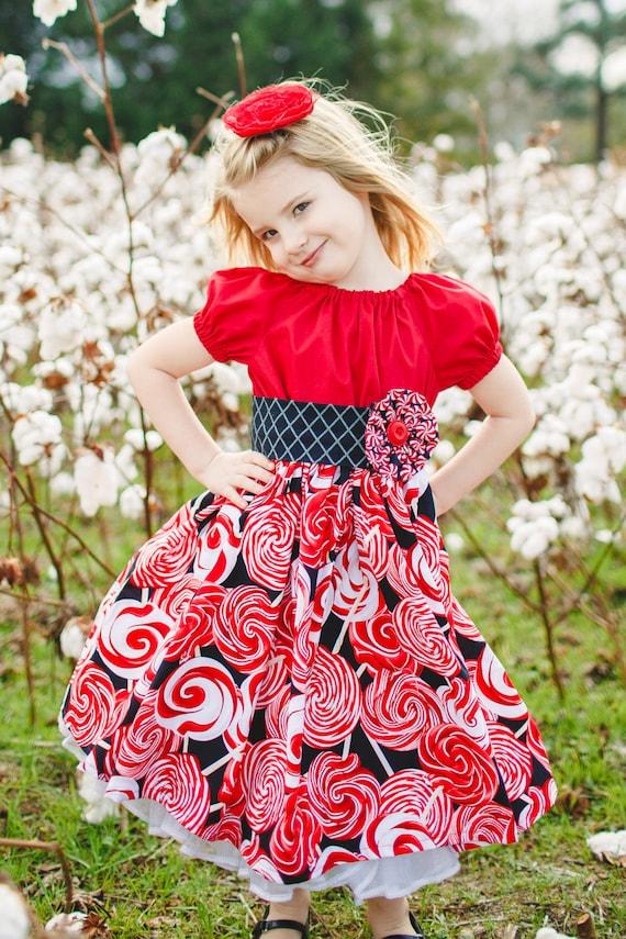 Dress children clothing holiday dress girls clothing girls dress