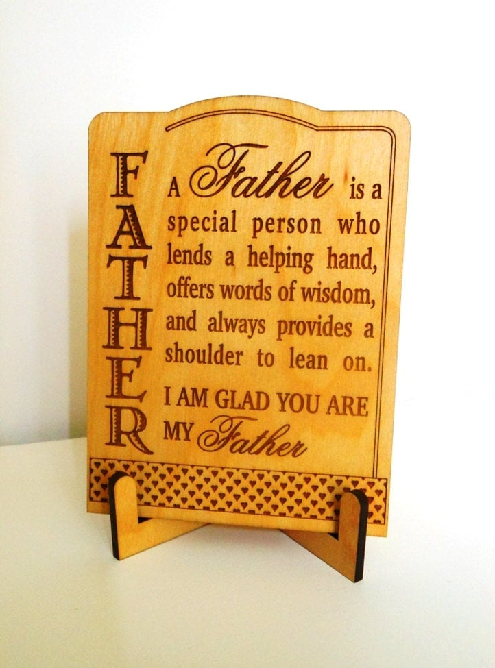 Father Greeting Card Dad Appreciation Gift Father's Day