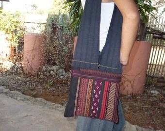 Boho hippie shoulder bag