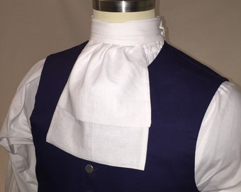 Ready-made 18th century Linen Ascot