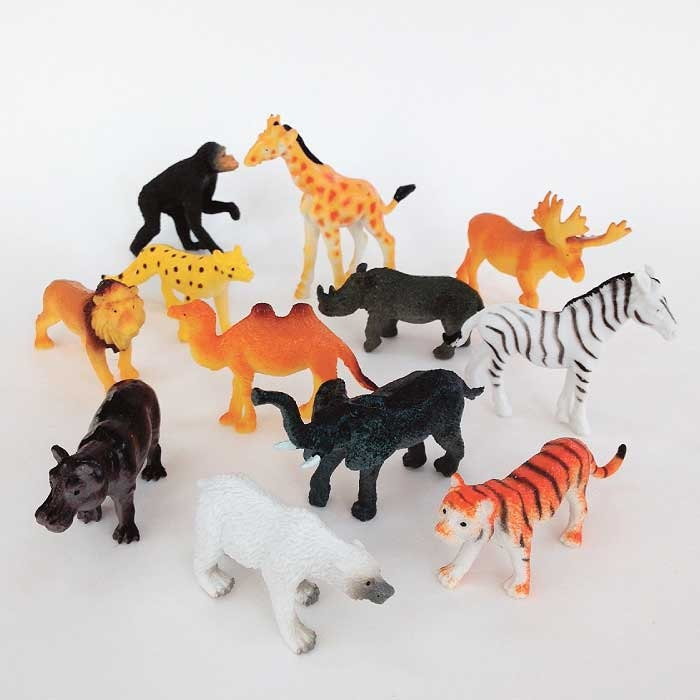 Plastic Animal Cake Toppers