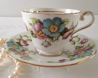 Aynsley China Tea Cup & Saucer Teacup Duo
