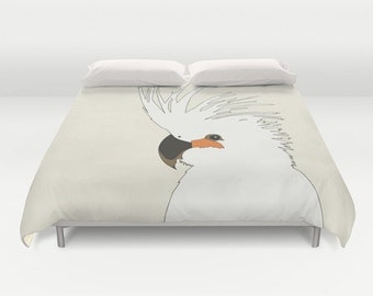 Bad Hair Day Duvet Cover