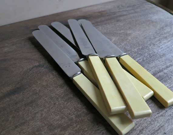 Superior Stainless Table Knives Box Of 6 Firth Stainless Faux