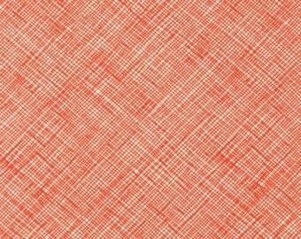 Architextures - Crosshatch Tangerine - Carolyn Friedlander - Robert Kaufman (AFR-13503-147)