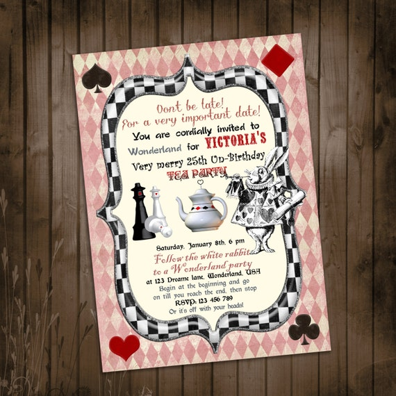 Online Tea Party Invitations was best invitations sample