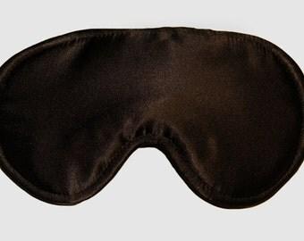 MANY SATIN COLORS! Satin sleeping mask, Black sleeping mask, Classic sleeping mask, Travel sleeping mask, Soft sleeping mask, Sleeping mask