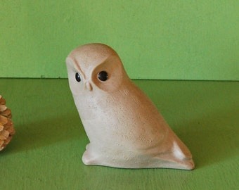 Owl Figurine, Pigeon Forge Pottery Owl, Vintage Owl