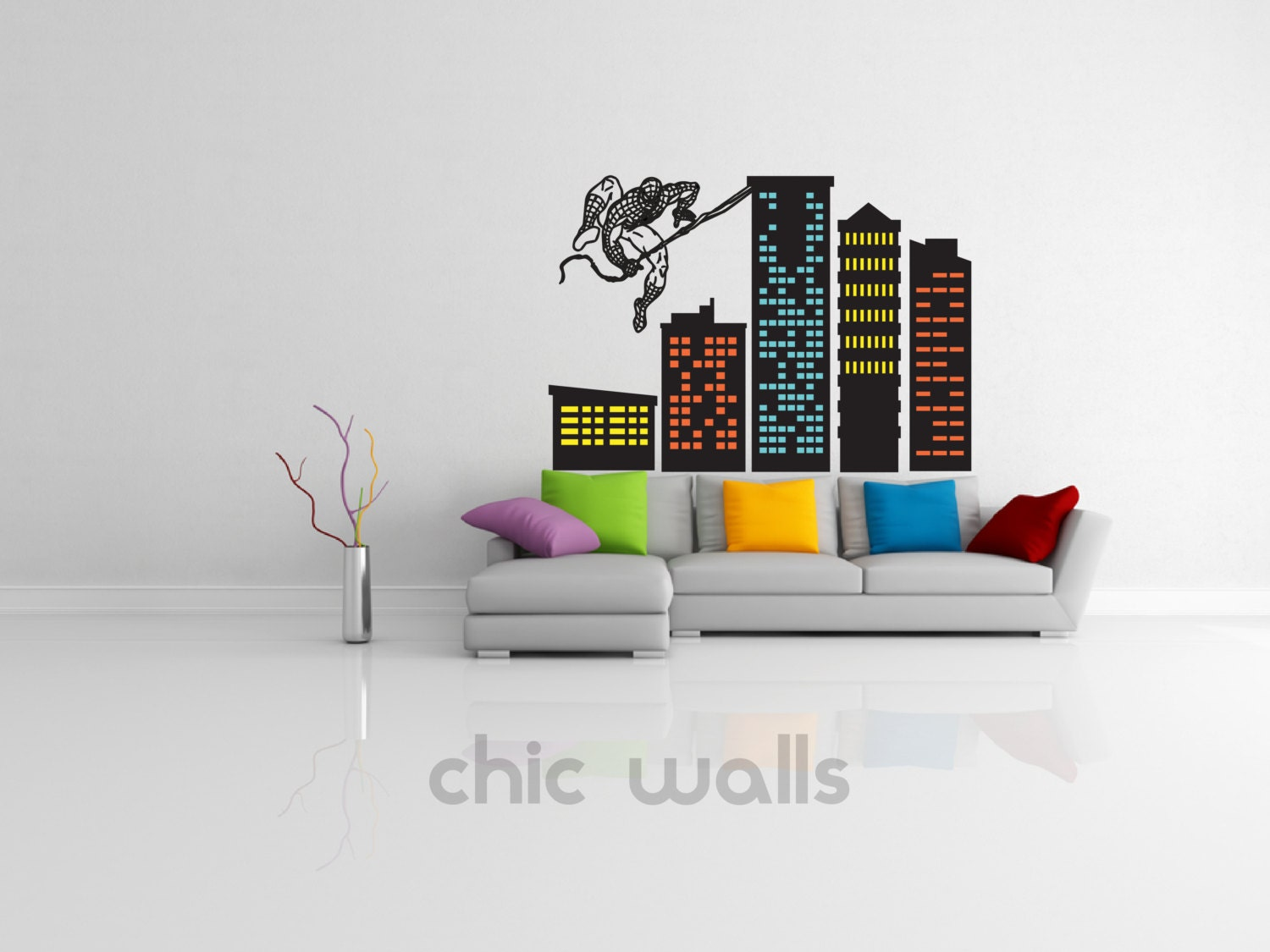 Spiderman Peel And Stick Wall Decals Funkthishouse Com