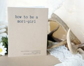 SALE | How to Be A Mori-Girl Mini Zine by Anie Inspired | japanese fashion, kei, lolita, cult party kei, woodland