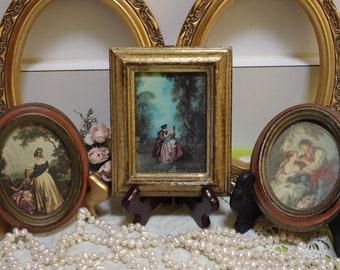 Miniature Italian Oval Portraits