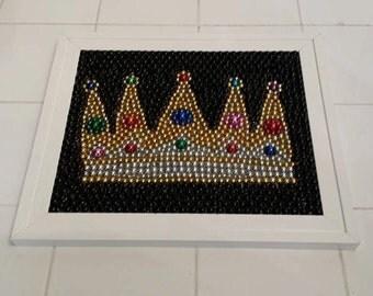"Jeweled crown  8"" X 10"""