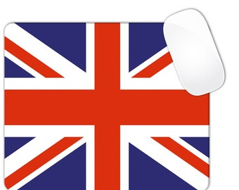 British United Kingdom Union Jack Flag Mouse Pad