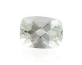 Green Amethyst Cushion Cut Loose Gemstone 1A Quality 8x6mm TGW 1.15 cts.