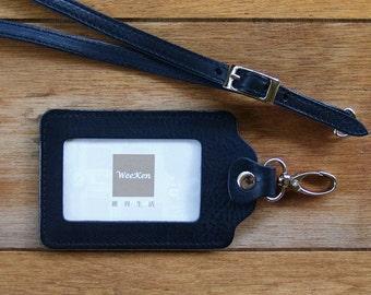 Weeken - ID card holder / badge holder with belt - Harley Black