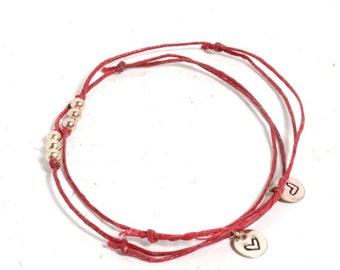 Positive Affirmation Bracelet, Wish Bracelet, Encouragement, Self Love Jewelry, Gifts for Her, Friendship Bracelet