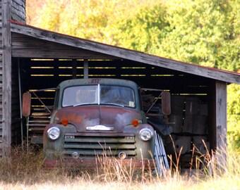 Yesteryear, Zebulon, North Carolina, Landscape, Fine Art Photography