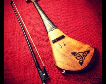Electric violin/ fiddle by DaShtick guitars - Fully handcrafted two string Hurley-varius