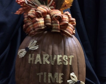 Fall Craft pumpkin.