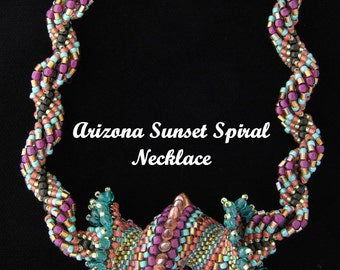 Arizona Sunset Spiral Necklace Kit
