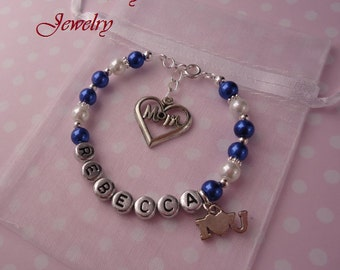 MOM, I Love You Bracelet - Gift For MOM on Christmas, Valentine's Day, Mother's Day and Birthday