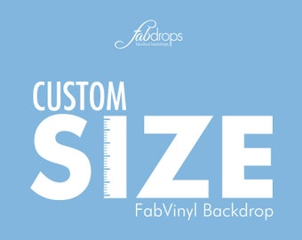 Custom Size Photography Backdrop - Fab Vinyl