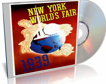 1939-1940 New York Worlds Fair Vintage Videos from the Fair on DVD