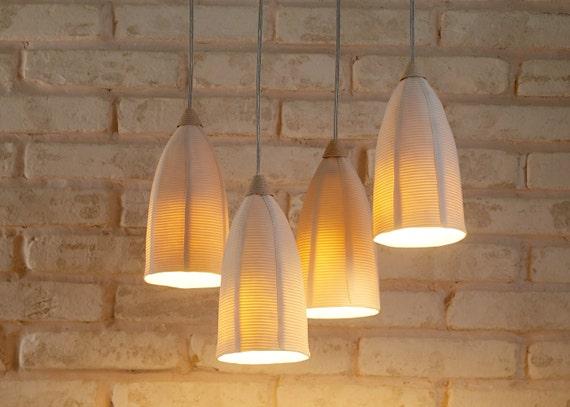 10% OFF- Lighting. 4 Hanging Lights. Modern Ceiling