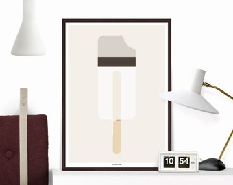 """Popsicle """"Kung Fu"""", Art Poster, Giclee, Archival"""
