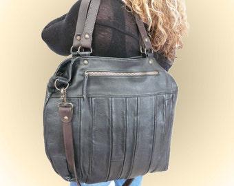 "mon "" Caleta ""    *handbag  *leather    *Tote  *hobo"