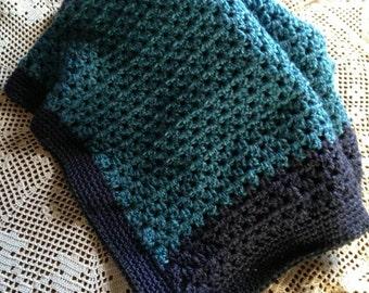 Crocheted Baby Afghan- Baby Blanket