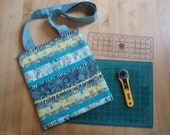 PDF Sewing, Quilt Pattern (instant download): 'Quilter's Bag' to hold mat, ruler and rotary cutter