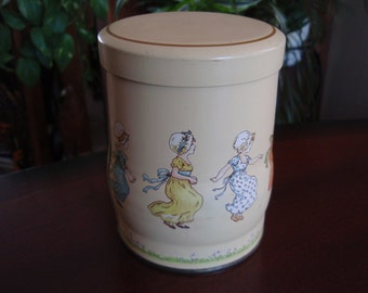 Tin The Box Company Designed by Damer NY Made in England Collectible Tin Container a2103