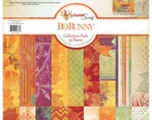 Bobunny Autumn Song 12x12 Paper pack and sticker sheet(was 19.99)