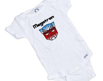 Transformer MEGATRON Funny baby Onesie